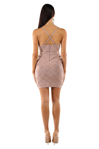 Jordyn Dress in Mocha