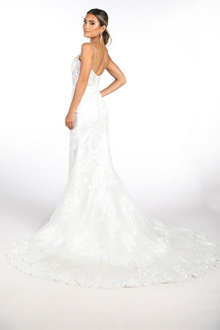 Kamali Wedding Gown - Ivory
