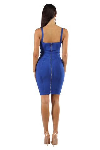 Luna Dress - Royal Blue
