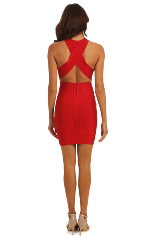 Margot Dress - Red