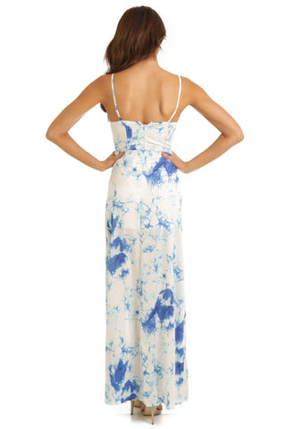 Ocean Breeze Marble Maxi Dress