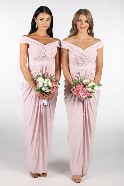 Olivia Bridesmaids Dress - Blush Pink