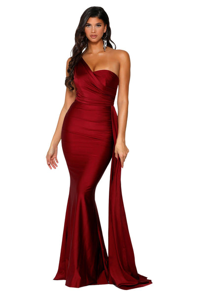 Style PS6321 in Deep Red by Portia & Scarlett
