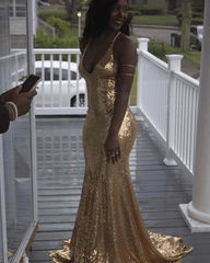 Estelle Gown - Gold