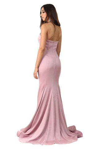 Valentina Gown - Dusty Pink
