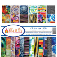 Ella & Viv Paper Company Collect Kit - Modern Art Kit