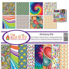 Ella & Viv Paper Company Collection Kit - Groovy Kit