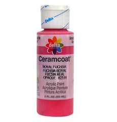 Ceramcoat Acrylic Paint Royal Fuchsia