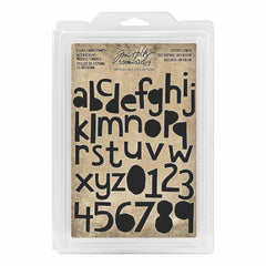 Tim Holtz Idea-ology Cling Foam Stamps Cutout Lower