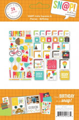 Simple Stories Sn@p Insta Squares & Pieces Birthday