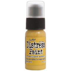Tim Holtz Distress Paint Fossilized Amber