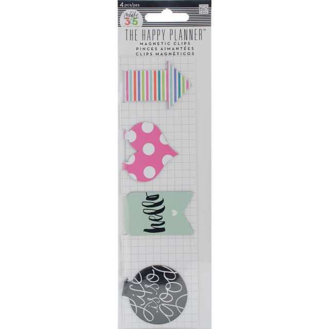 MAMBI Create 365 The Happy Planner Magnetic Clips