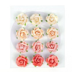 Prima Flowers Love Clippings Roses 12 Pieces