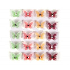 Prima Flowers Wild And Free Butterflies 20 Pieces