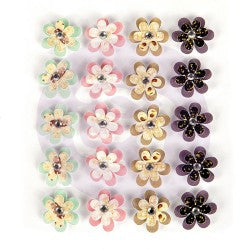 Prima Flowers Wild And Free 20 Pieces