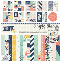 Simple Stories 12x12 Collection Kit Posh