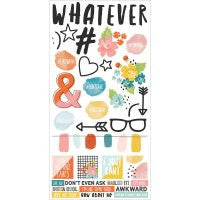 Simple Stories #Whatever Cardstock Stickers