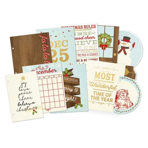 Simple Stories Classic Christmas SN@P Pages With Foil