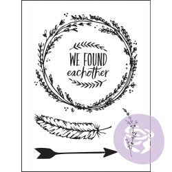Prima Clear Stamps Wild And Free
