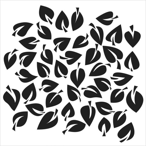 TCW 12x12 Template Dancing Leaves