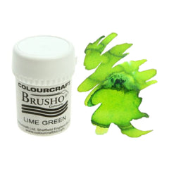 Brusho Colours - Water Colour Powder - Lime Green