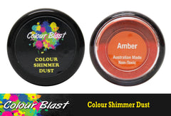 Colour Blast Shimmer Dust - Amber