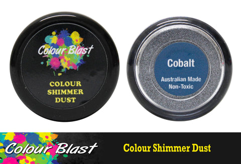 Colour Blast Shimmer Dust - Cobalt