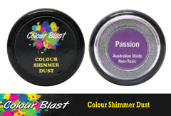 Colour Blast Shimmer Dust - Passion