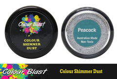 Colour Blast Shimmer Dust - Peacock