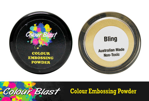 Colour Blast Embossing Powder Bling