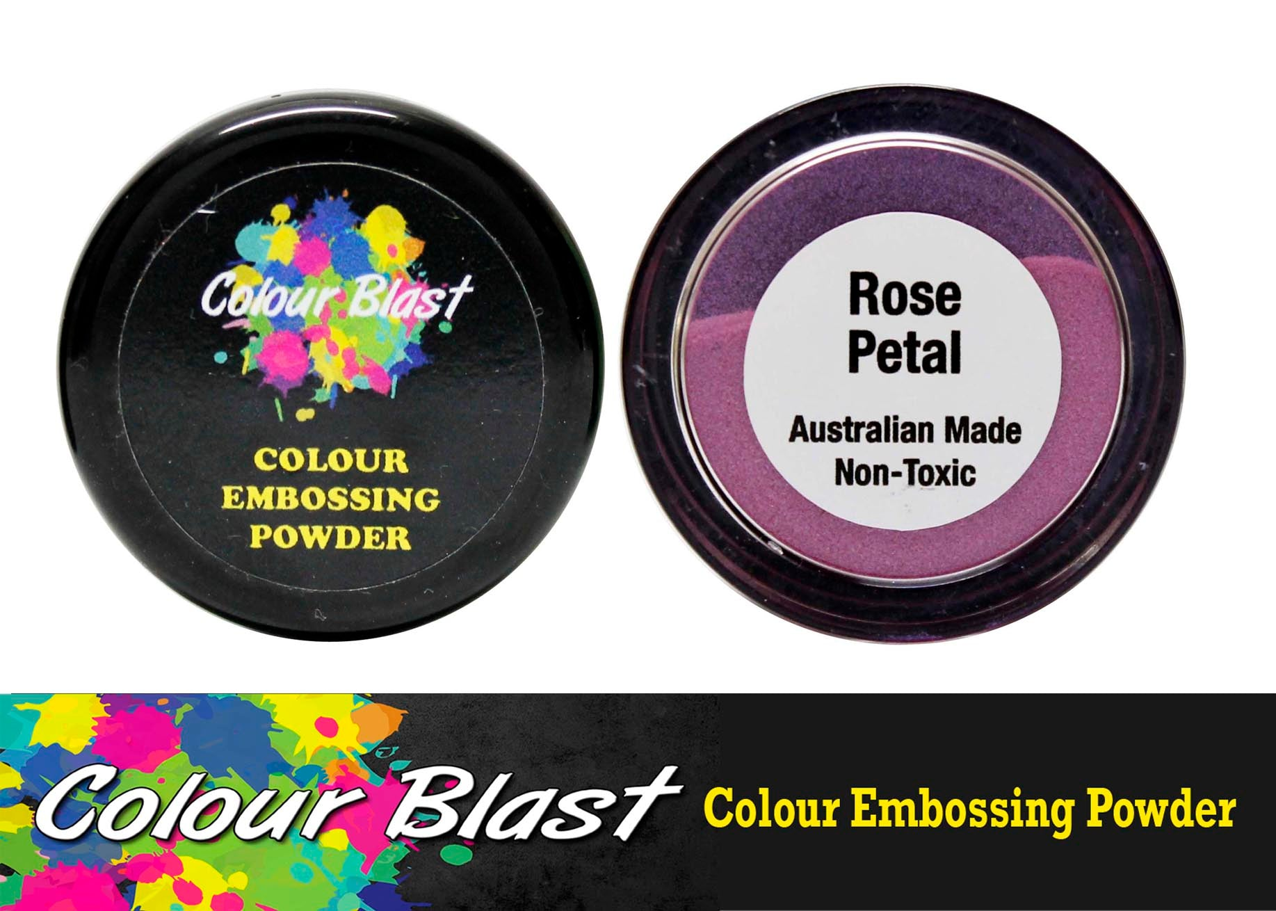 Colour Blast Embossing Powder Rose Petal