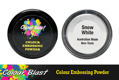 Colour Blast Embossing Powder Snow White