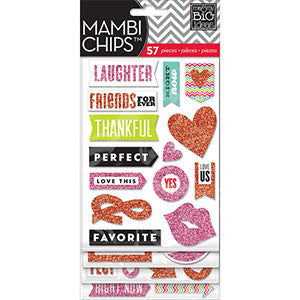 MAMBI Chips You and Me Glitter