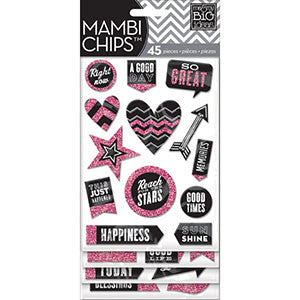 MAMBI Chips A Good Day Pink