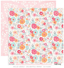 CV-HL001 Hello Lovely 12x12 Paper - Delightful