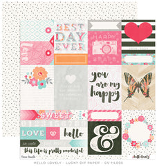 CV-HL005 Hello Lovely 12x12 Paper Lucky Dip