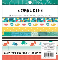 Crate Paper Cool Kid 6x6 Pad