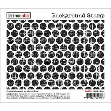 DRD Background Stamp Polka Dots