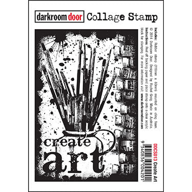 DRD Collage Stamp Create Art