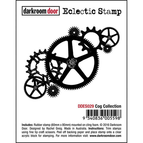 DRD Eclectic Stamp Cog Collection