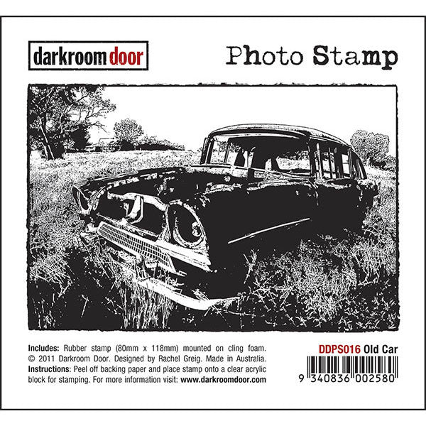 DRD Photo Stamp Old Car