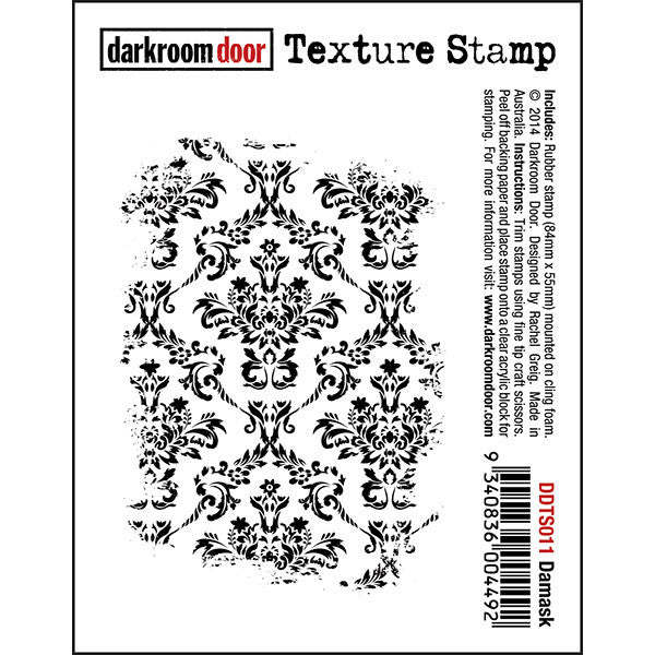 DRD Texture Stamp Damask