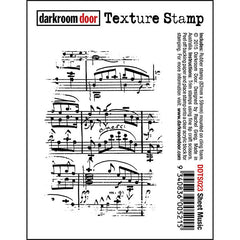 DRD Texture Stamp Sheet Music