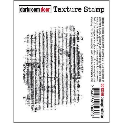 DRD Texture Stamp Corrugated Iron
