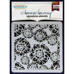 Donna Downey 8x8 Template Blooming Floral