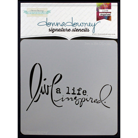 Donna Downey 8x8 Template Live A Life