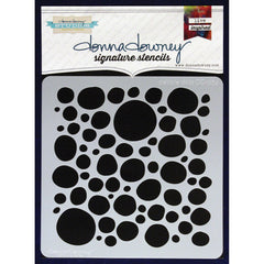 Donna Downey 8x8 Template Pebble Dots