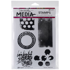Dina Wakley Media Stamps Textures
