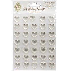 Epiphany Crafts Shape Studio Bubble Caps Clear Heart 14