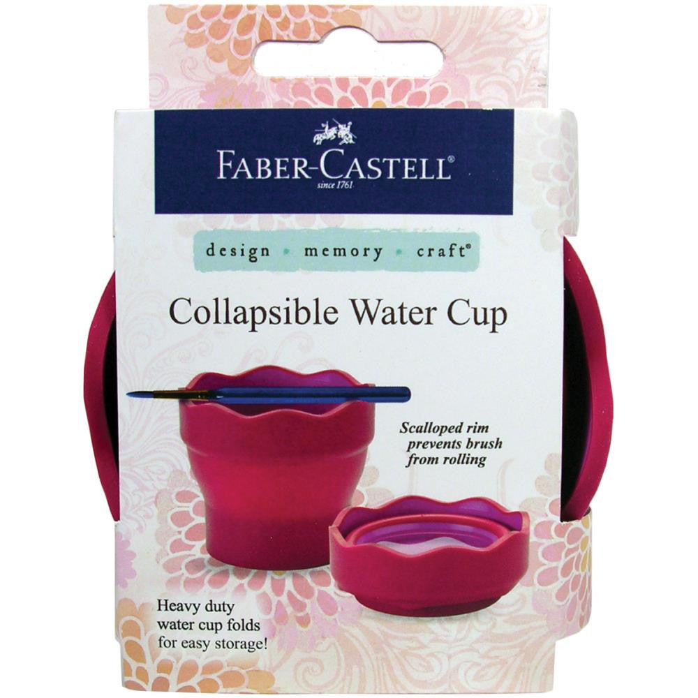 Collapsible Water Cup - GREEN in colour
